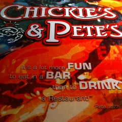 Photo taken at Chickie's & Pete's by Alex H. on 3/23/2012