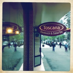 Photo taken at Toscana Sandwich and Salad Bar by Radu B. on 4/26/2012