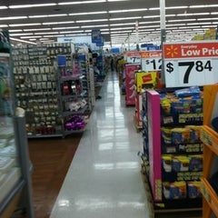 Photo taken at Walmart Supercenter by Bibian O. on 7/22/2012
