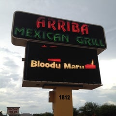 Photo taken at Arriba Mexican Grill by Art E   ❤️2⛳️ on 7/14/2012