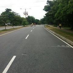 Photo taken at Parque Mirador Sur by LuisDaniel O. on 6/16/2012