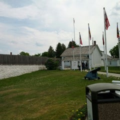 Photo taken at Fort Mackinac by Christopher S. on 5/28/2012
