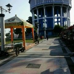 Photo taken at Alun - Alun Kota Magelang by richie r. on 7/5/2012