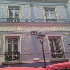 Photo taken at Au Rocher de Cancale by pierre a. on 8/30/2012
