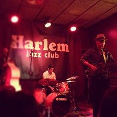 Photo taken at Harlem Jazz Club by Adriano O. on 7/24/2012