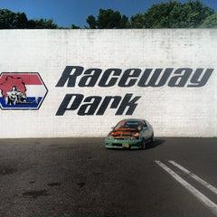 Photo taken at Old Bridge Township Raceway Park by Mc Slick on 6/29/2012