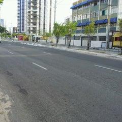 Photo taken at Avenida Bernardo Vieira de Melo by Aguinaldo F. on 2/19/2012