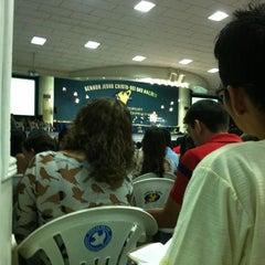 Photo taken at Igreja da Paz by Paulo V. on 4/8/2012