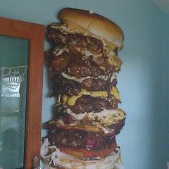 Photo taken at Stella's Hamburgers by Colin on 3/22/2012