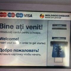 "Photo taken at Moldindconbank Filiala ""Centru"" by Geo on 8/17/2012"