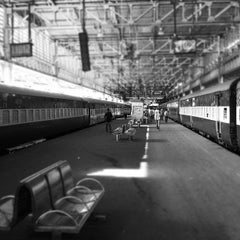 Photo taken at Chhatrapati Shivaji Terminus by Fritz-Joël M. on 8/21/2012