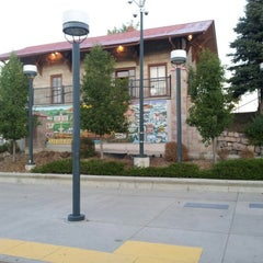 Photo taken at RTD Downtown Littleton Station by Patrick K. on 8/31/2012