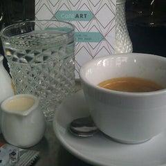 Photo taken at Café ART by Jiri H. on 4/2/2012