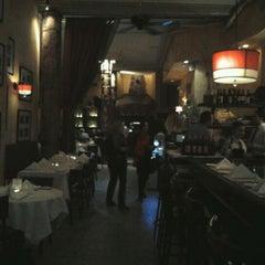 Photo taken at Trattoria Dopo Teatro by Imelda T. on 3/5/2012