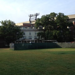 Photo taken at Reed Hall by Marcus on 8/23/2012