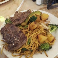 Photo taken at Hibachi Grill Buffet by Tyler P. on 6/27/2012