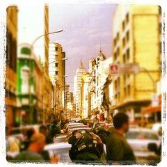 Photo taken at Rua Santa Ifigênia by Ricardo P. on 5/5/2012