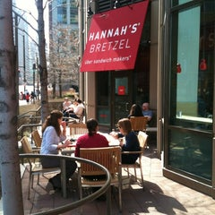 Photo taken at Hannah's Bretzel by SCOTT P. on 3/14/2012