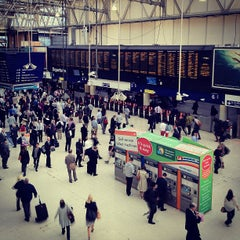 Photo taken at London Waterloo Railway Station (QQW) by Keith C. on 9/13/2012