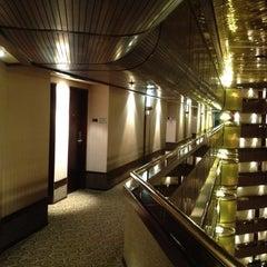 Photo taken at Sandton Sun Hotel by Jaouad E. on 5/3/2012