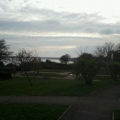 Photo taken at Sandsfoot Cafe by WeymouthBeachBB on 2/12/2012
