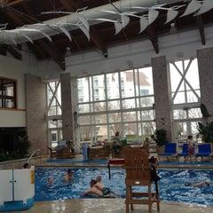 Photo taken at Pool @ Hyatt. by Nirav P. on 3/16/2012