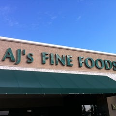Photo taken at AJ's Fine Foods by Sean R. on 2/15/2012