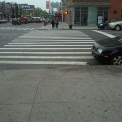 Photo taken at MTA Bus - E 125 St & Lexington Av (Bx15/M35/M60-SBS/M98/M100/M101) by Gary L. on 5/5/2012