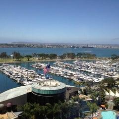 Photo taken at San Diego Marriott Marquis & Marina by William K. on 6/22/2012