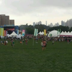 Photo taken at Randall's Island by Jason J. on 7/29/2012