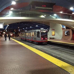 Photo taken at West Portal MUNI Metro Station by Laurie F. on 3/4/2012