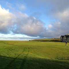 Photo taken at Half Moon Bay Golf Links by Dan on 6/26/2012