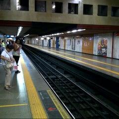 Photo taken at MetrôRio - Estação Carioca by Claudio G. on 8/11/2012