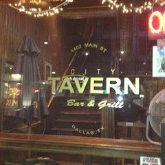Photo taken at City Tavern by Fernando F. on 2/21/2012