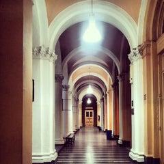 Photo taken at Facultad de Ciencias Económicas (UBA) by Patricio S. on 7/26/2012