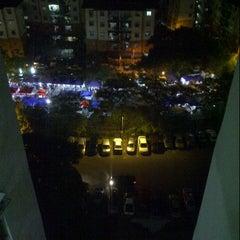 Photo taken at Pasar Malam Desa Tasik (Night Market) by z a m on 8/1/2012