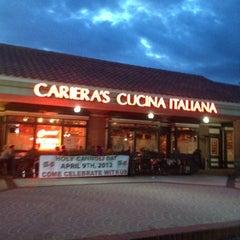 """Photo taken at Cariera's Cucina Italiana by """"Rocket"""" Rod 🚀 on 3/23/2012"""