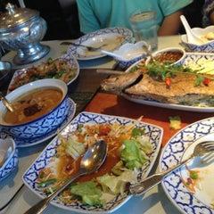 Photo taken at President Thai Restaurant by Megan P. on 9/4/2012