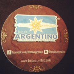 Photo taken at Bar do Argentino by Rodrigo Rossetti L. on 6/3/2012