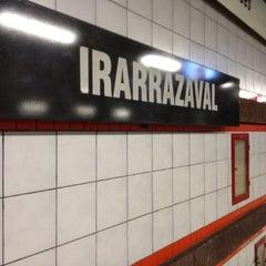 Photo taken at Metro Irarrázaval by Cristián E. on 3/25/2012