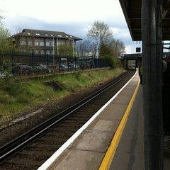 Photo taken at Sevenoaks Railway Station (SEV) by Dennis K. on 4/20/2012