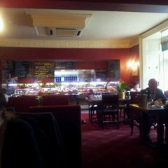 Photo taken at The Priory Restaurant & Hotel Caerleon by Wez G. on 2/28/2012