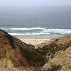 Photo taken at Black's Beach by Eric K. on 6/17/2012