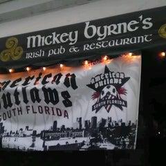 Photo taken at Mickey Byrne's Irish Pub by Pabony R. on 6/3/2012