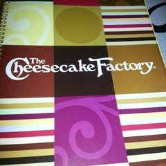 Photo taken at The Cheesecake Factory by Brit J. on 7/19/2012