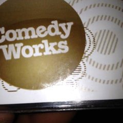 Photo taken at Comedy Works Downtown in Larimer Square by Jessica O. on 3/25/2012
