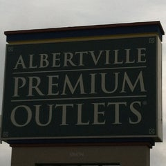 Photo taken at Albertville Premium Outlets by Paula R. on 7/21/2012