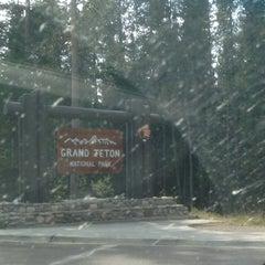 Photo taken at Grand Teton National Park by Ben B. on 9/11/2012