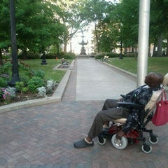 Photo taken at Court Square by Tanisha R. on 4/7/2012