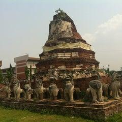 Photo taken at วัดธรรมิกราช (Wat Thammikarat) by Volk 🚗 W. on 3/27/2012
